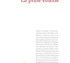 """Revue de presse – """"La pluie ébahie"""" de Mia Couto"""
