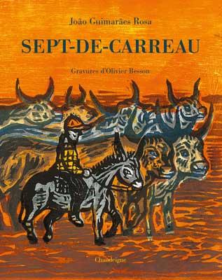 """Atelier Gravure avec Olivier Besson autour du livre """"Sept-de-carreau"""" – Dimanche 23 avril – De 10h à 12h –"""