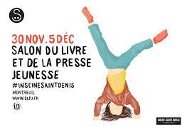 Salon du livre & de la Jeunesse de Montreuil du 30 novembre au 5 décembre