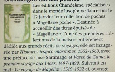 Nouvelle collection «Magellane poche» dans Livres Hebdo