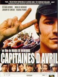 """Projection du film """"Capitaines d'avril"""" au cinéma L'entrepôt suivie d'une discussion avec Yves Léonard auteur de """"Histoire du Portugal contemporain"""""""