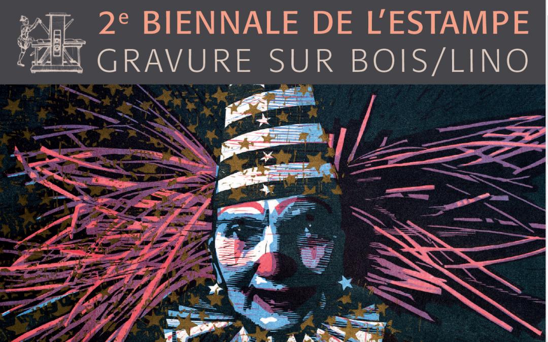 Exposition d'Olivier Besson – 2e Biennale de l'Estampe – Étampes du 5 au 31 mai