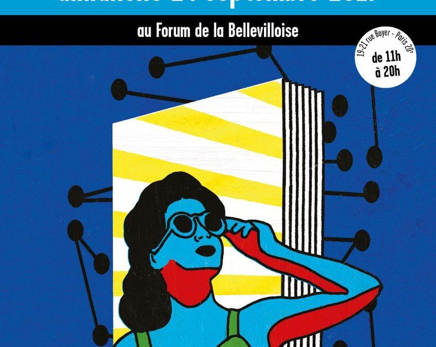 Salon du Livre des Éditeurs Associés à La Bellevilloise – le 24 septembre de 11h à 20h 2017