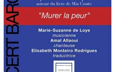 "Lecture musicale de ""Murer la peur"" de Mia Couto – Samedi 25 novembre à 21h"