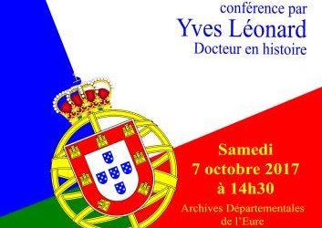 """""""Le Portugal au XXe siècle, une histoire singulière et méconnue"""" – Le 7 octobre à 14h30 – Évreux"""