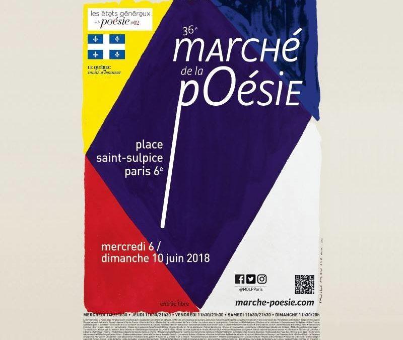 Les éditions Chandeigne au Marché de la poésie ! Du 6 au 10 juin prochain – Paris