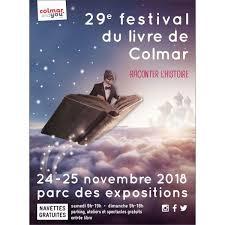 Festival du livre de Colmar – 24 & 25 novembre 2018