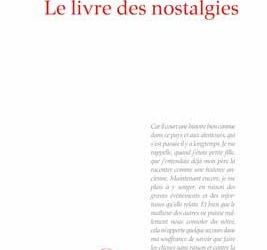 """Revue de presse – """"Le livre des nostalgies"""" de Bernadim Ribeiro"""