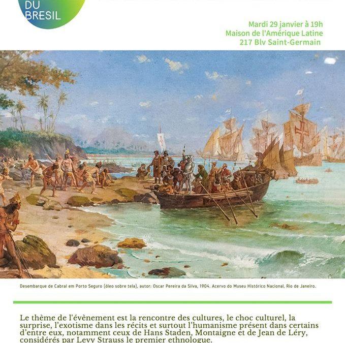 Maison de l'Amérique Latine – «La découverte de l'autre» – Mardi 29 janvier à 19h