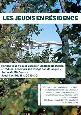 Fondation Jan Michalski – Rencontre avec Elisabeth Monteiro Rodrigues autour de Mia Couto – Jeudi 4 avril à 18h30