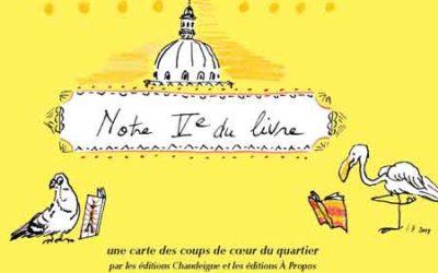 Un parcours dans le Ve du livre carte en main – Nuit de la lecture 2020 – Samedi 18 janvier à 18h