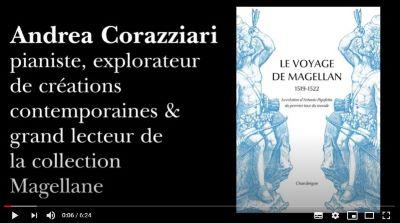 [Retraite Chandeigne n°17] Andrea Corazziari, pianiste, lit un extrait de « La divine comédie» de Dante