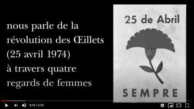 [Retraite Chandeigne n°20] Yves Léonard parle de la révolution des Œillets à travers quatre regards de femmes