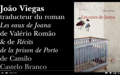 [Retraite Chandeigne n°21] Machado de Assis par le traducteur João Viegas