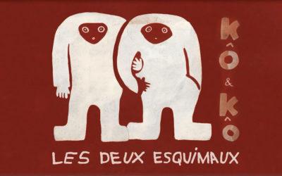 «Kô & Ko les deux esquimaux» de Vieira Da Silva : la réédition du livre et la création du cd
