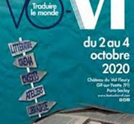 Festival VO – VF – Joute de traduction avec Mathieu Dosse & Daniele Schramm – Dimanche 4 octobre 2020 à 10h30