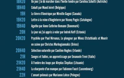 Dulce Maria Cardoso à la Nuit de la littérature – Présentation d'Eliete, la vie normale – Samedi 30 mai 2021 à 22h20