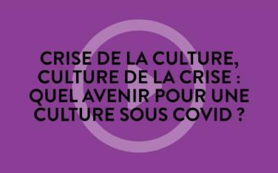 «Crise de la culture, culture de la crise : quel avenir pour une culture sous Covid ?» – Table ronde avec Valério Romão – Festival L'industrie magnifiqueà Strasbourg – Jeudi 10 juin 2021 à 17h
